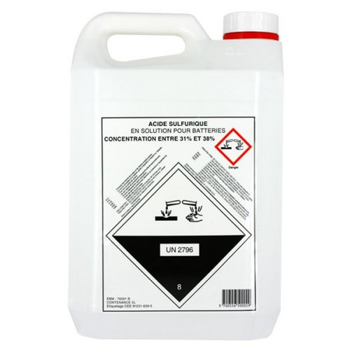 Bidon 5 litres Electrolyte 37.4