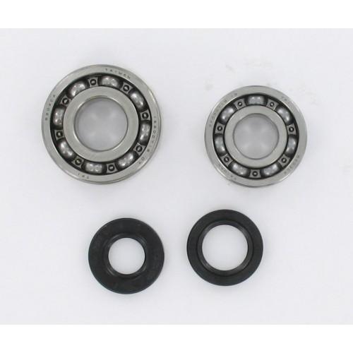 Kit roulements moteur 6203 / 6204 C4 acier TPI - Peugeot 103