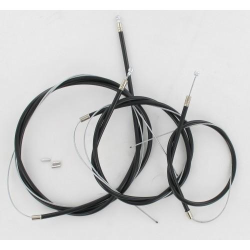 Kit câbles complet Gaine Noire Solex 45 > 3800