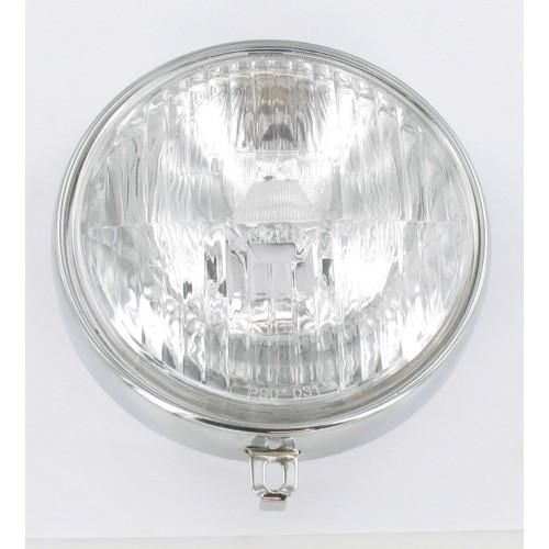 Optique de phare rond chromé MBK 51 Swing