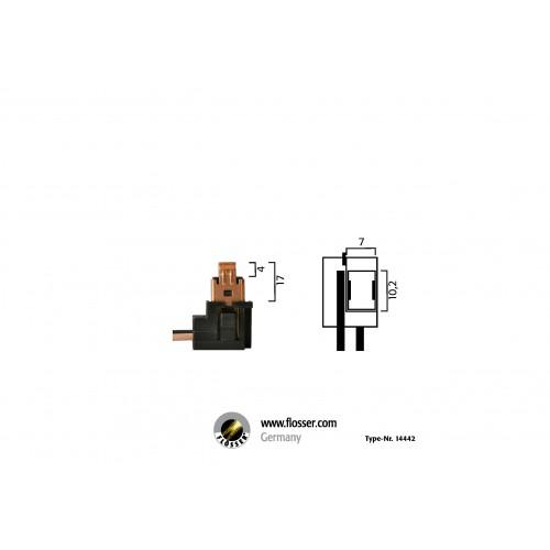 Fiche ampoule H1 avec culot Flosser (14442)