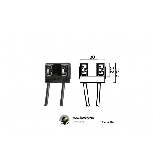 Fiche ampoule H7 Flosser (7444)
