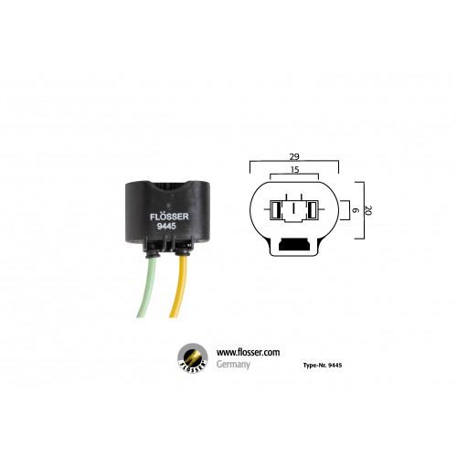 Fiche ampoule HB3 H10 H12 Flosser (9445)
