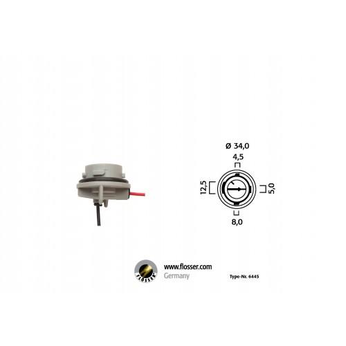 Fiche ampoule culot BAU15s Flosser (6445)
