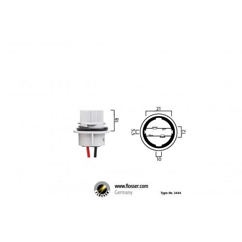 Fiche ampoule culot W21W Flosser (2444)