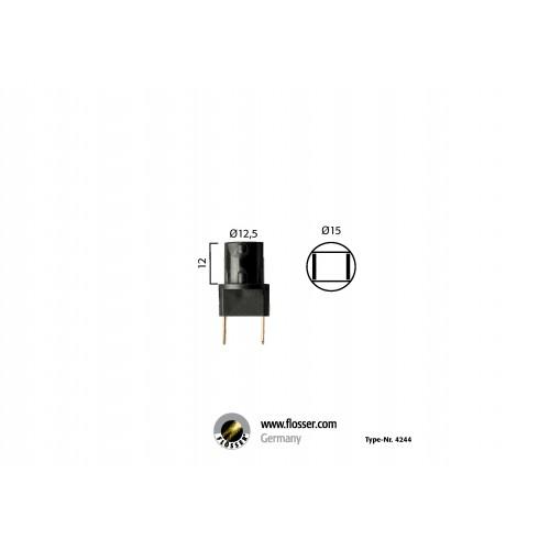Fiche ampoule culot W2,1x9,5d Flosser (4244)