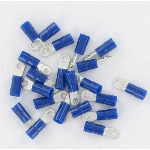 Sachet de 50 cosses pré-isolée borne 3 section de fil 1 à 2.5mm2