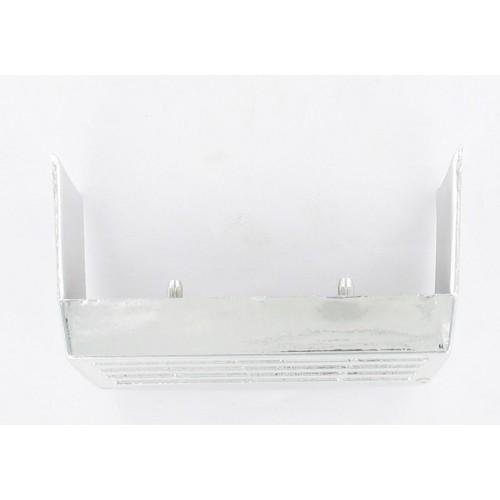 Grille enjoliveur plastique chromé d'avertisseur de phare MBK 40 88