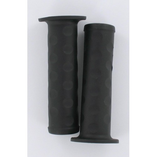 Paire de revêtements de poignées noir MBK