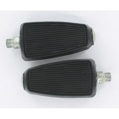 Paire Pédales Union noir 14x125 Peugeot 103 MBK 51 Solex