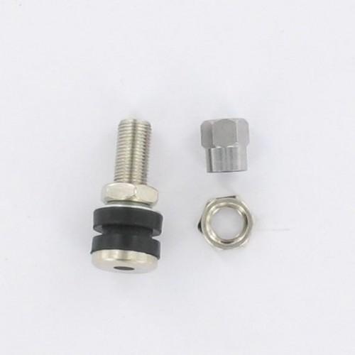 Valve droite 33mm acier TR161