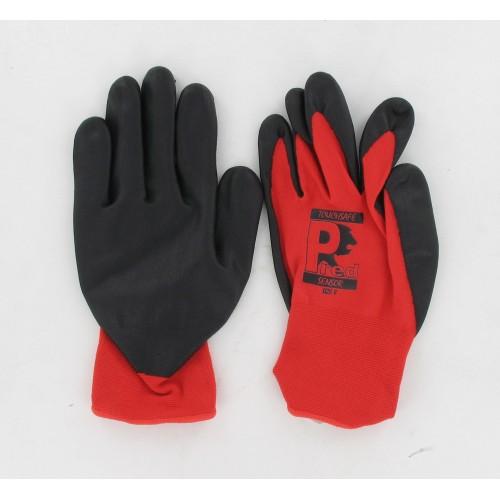 Paire de gants atelier Tactile Nylon / Elasthane Homologué CE - Taille 8