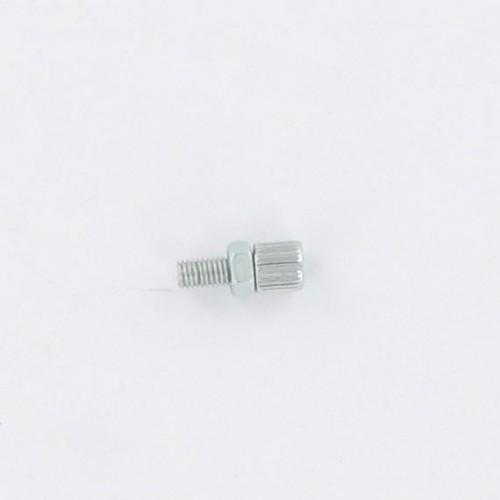 Vis tendeur de câble d'accélérateur M5x0.8 lg : 20 Peugeot 103 MBK 51