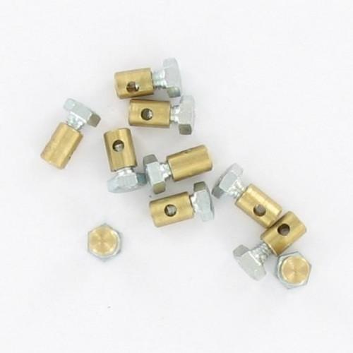 Sachet de 10 serres câble de gaz D5.5x8mm Diamètre Câble 2,2mm Peugeot 103 MBK 51 Ciao PX