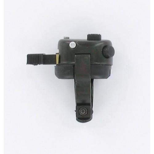 Commodo noir 3 positions et 2 boutons