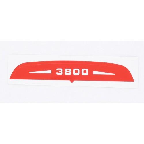 Autocollant de capot filtre à air Solex 3800