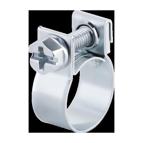 Collier de serrage acier à vis Durite / Tuyau D8-10 mm - Largeur 9mm