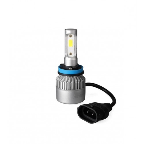 Pack 2 Ampoules à LED H8 H11 12V - 8000 lumens / 6500K
