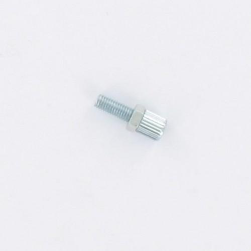 Vis tendeur de câble d'accélérateur M5x0.8 lg : 23/15 Peugeot 103 MBK 51