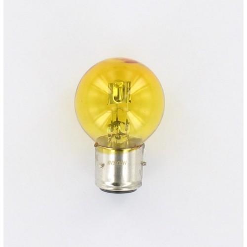 Ampoule BA21D 12V 45/40W Jaune