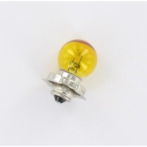 Ampoule P26s 12V 15W Jaune