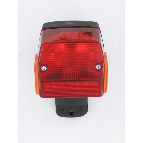 Feu arrière universel avec support Cyclomoteur Peugeot 103 Puch Maxi