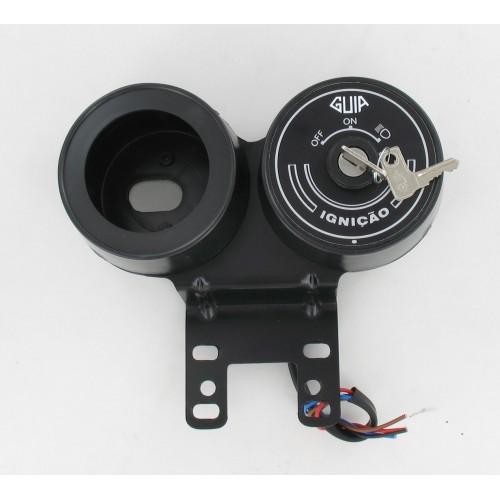 Support de compteur 60mm universel avec contacteur