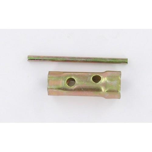 Clé à bougie 18/21mm (long 70mm)