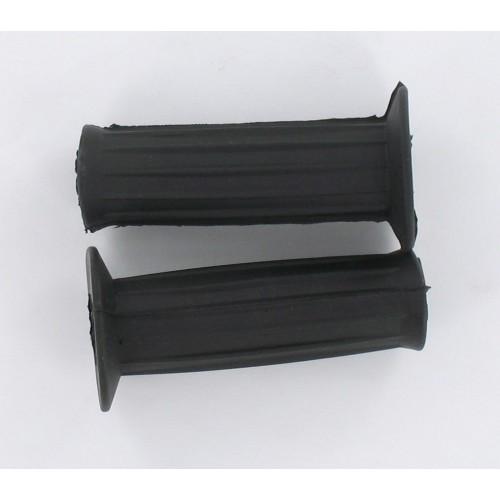 Paire de revêtements de poignées Noires 101mm D21/25 MBK Motobecane