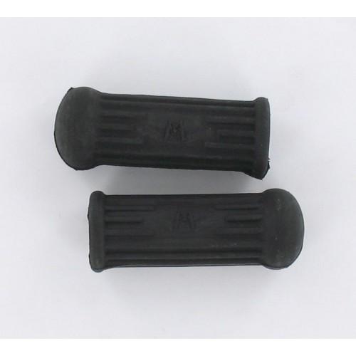 Paire de caoutchouc repose pieds arrière Noir 75mm MBK Motobecane