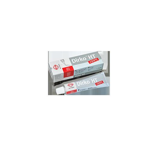 Tube 70 ml Pâte à joints DIRKO - Grise (-60° C / +300°C)