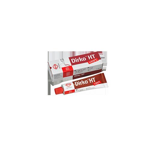 Tube 70 ml Pâte à joints DIRKO - Rouge (-60° C / +315°C)