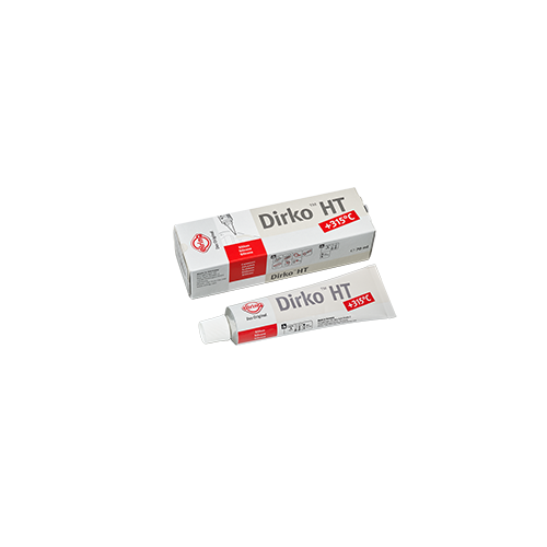Tube 70 ml Pâte à joints DIRKO - Beige (-60° C / +315°C) (030.793)