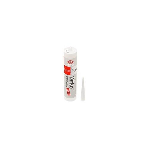Tube 310ml Pâte à joints DIRKO - Transparente   (-60°C / +250°C) (216.910)