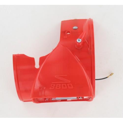 Capot Phare Rouge sans optique Solex 3800 luxe