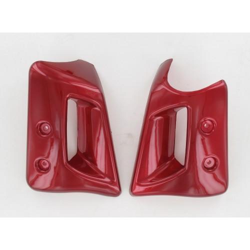 Ecopes de radiateur Rouges Peugeot 103 SPX RCX