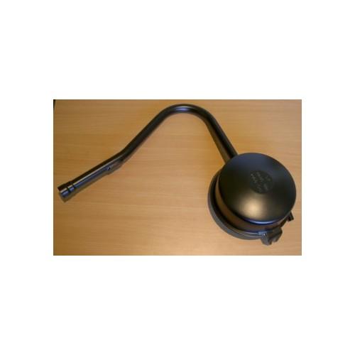 Pot d'échappement noir Homologué - Solex 3800