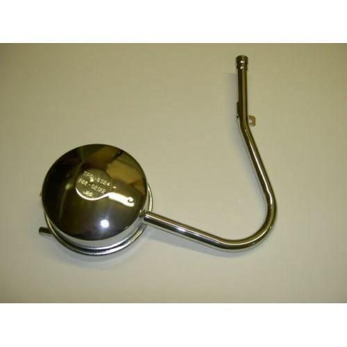 Pot d'échappement chromé Homologué - Solex 3800